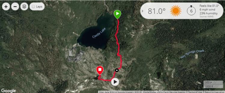 Heart Lake hike
